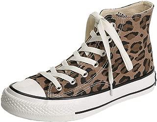 RAZAMAZA Women Fashion Lepord-Print Shoes Round Toe