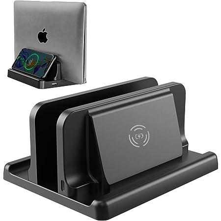 Vaydeer Vertikaler Laptop Ständer Mit Kabellosem Elektronik