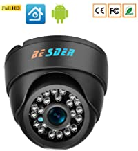 DCZ IP Camera H.265 Security System Indoor Dome Video Surveillance CCTV Camera P2P onVIF Motion Detect Night Vision Record...