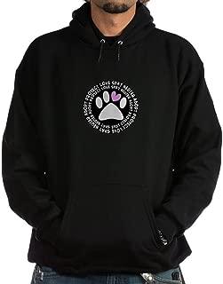 CafePress Spay Neuter Adopt Black Oval.PNG Hoodie Sweatshirt