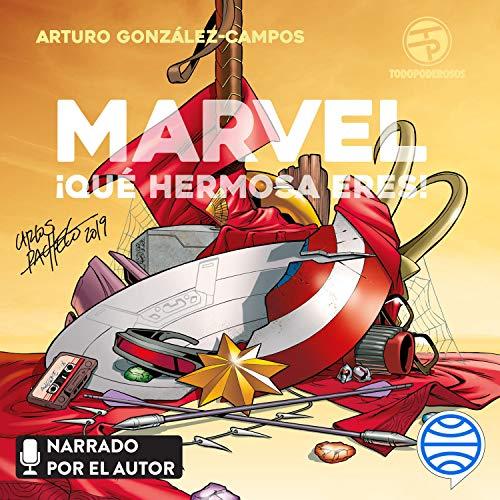 Diseño de la portada del título Marvel, ¡qué hermosa eres!