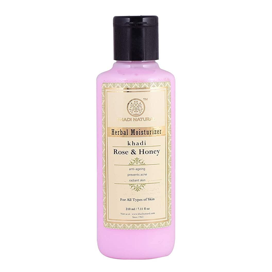 階段論理継続中Khadi Natural Rose & Honey Moisturizer