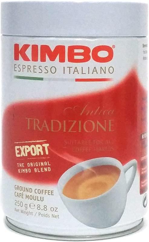 Kimbo Antica Tradizione Ground Coffee In Can 8 8oz 250g