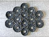 Alfombra Trapillo 'Hexagon'