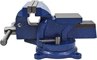 """6"""" Bench Vise Table Top Clamp Press Locking Swivel Base Heavy-Duty for Crafting Painting Sculpting Modeling Electronics So..."""