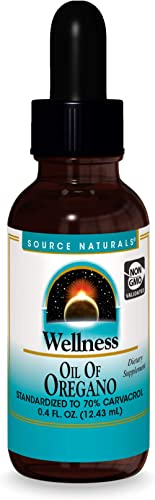 Source Naturals Wellness Oil of Oregano - Standardized to 70% Carvacrol - 0.4 Fluid oz product image