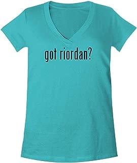 The Town Butler got Riordan? - A Soft & Comfortable Women's V-Neck T-Shirt