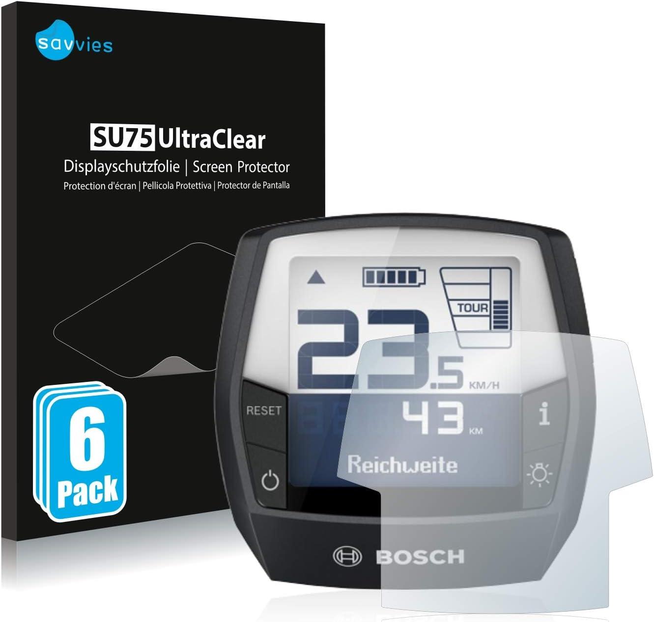 Savvies 6x Schutzfolie Kompatibel Mit Bosch Intuvia Elektronik
