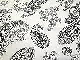 Paisley Blume Drucken Baumwolle & Leinen Canvas Stoff