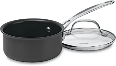Cuisinart 619-14 Chef's Classic Nonstick Hard-Anodized 1-Quart Saucepan with Cover