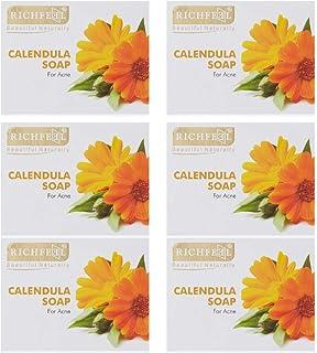 Richfeel Soap (Calendula Extract) - Pack of 6