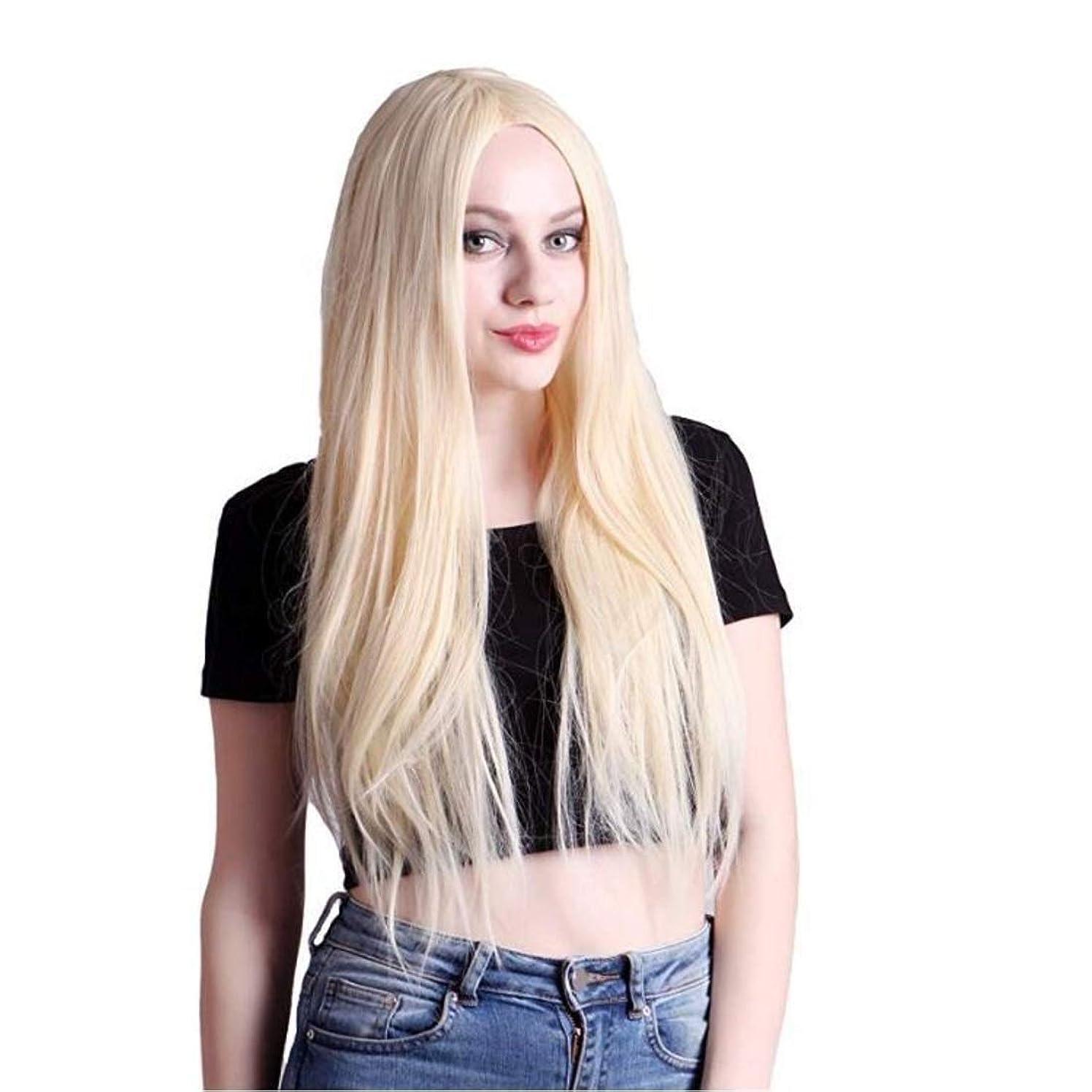 息を切らして女優地図Summerys レディースウィッグ夏スタイルの完璧なヘアラインルートウィッグ人工毛フロントレースかつらすべての肌のトーンのシルクストレートヘア