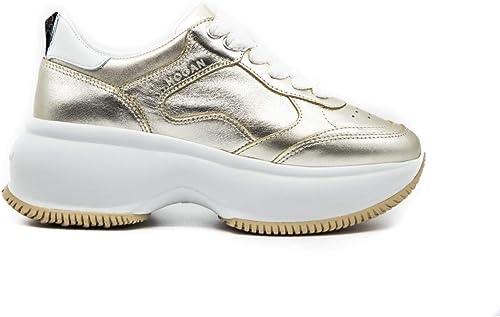 Hogan Sneaker Donna Maxi Active One Oro HXW4350BN50I812917 2917 ...