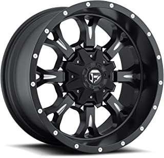 Fuel Krank black Wheel with Painted Finish (20 x 9. inches /5 x 5 inches, 1 mm Offset)