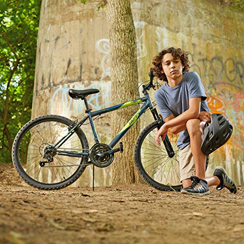 Huffy Bicycle Company Huffy Hardtail Mountain Bike, Summit Ridge 24-26 inch 21-Speed, Lightweight - 76808