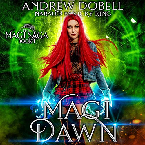 Magi Dawn Audiobook By Andrew Dobell cover art