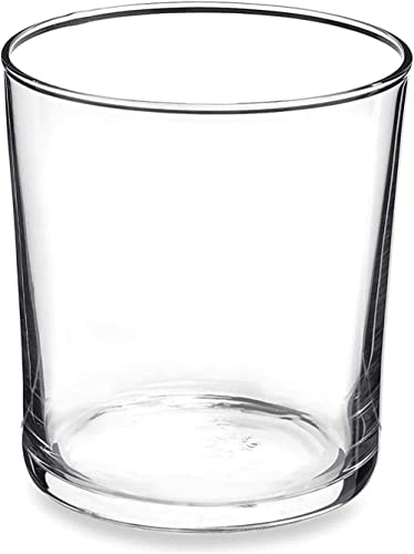 Bormioli Rocco Bodega Collection - Vaso Mediano para Agua, Bebidas y Cocteles, Vidrio Templado, Transparente, 12 oz, ...