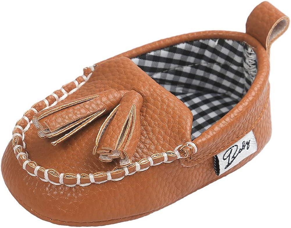 XYLUIGI Infant Boy Loaferss Slip On Dress Shoes Baby Sneakers