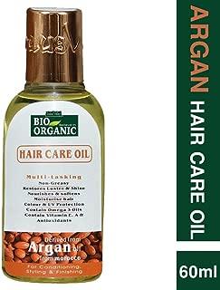 Indus Valley Bio Organic Argan Moroccan Extra Penetrating Oil For Hair & Scalp Treatment 60ml.