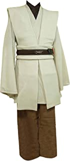 Allten Men's Cosplay Costume Linen Cotton Halloween Tunic