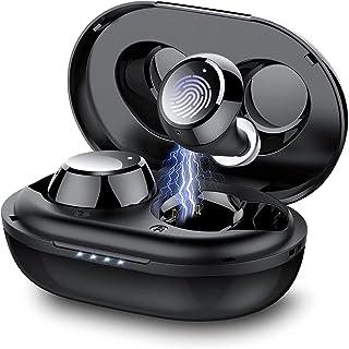 Taopod Auriculares Inalambricos, Auriculares Bluetooth 5.1 In-Ear, 36 Horas de Reprodución con Caja de Carga Portátil, Con...