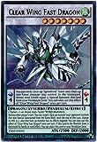 yu-gi-oh Clear Wing Fast Dragon - YA02-EN001 - Ultra Rare - Limited Edition ARC-V Volume 2 (Limited Edition)