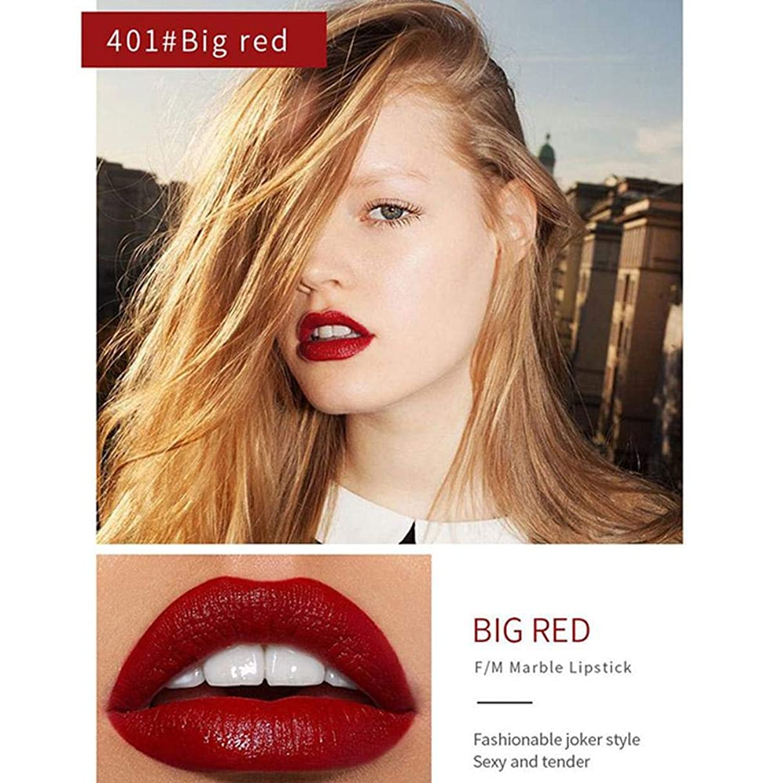 の間にたくさん適切にSILUN 口紅 長持ち 防水 落ちにくい 口紅大理石柄ケースマットリップスティック防水長続き水 口紅顔料メイク人気 お洒落色