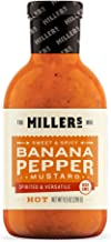 MILLERS MUSTARD Mustard Banana Pepper Hot, 9.5 OZ