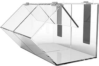 FixtureDisplays Plaxiglass Candy Bin Acrylic Candy Dispenser Clear Transparent Treats Display 100868-NF