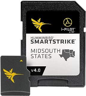 Humminbird SmartStrike Mid-South States Edition Digital GPS Lake Maps, Micro SD Card, Version 4
