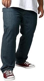 [ヘインズ] 大きいサイズ メンズ ジーンズ ストレッチ ストレート デニム パンツ
