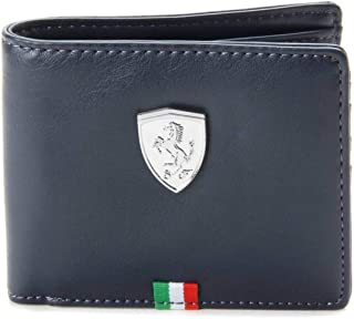GWD Puma Ferrari Men's Wallet Comfortable for All Plain Blue) (Original Products Selling by only Seller : GWD Trade) #1