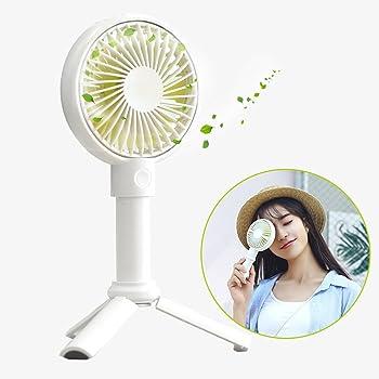 Rarazu Ventilateur à Main Portable Mini Ventilateur de Table