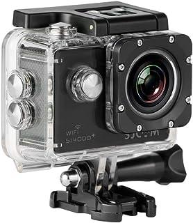 "SJCam SJ4000 Plus - Videocámara deportiva (WiFi integrado, LCD 1.5"", 1080p 30 fps, sumergible hasta 30 m) color negro, - [..."