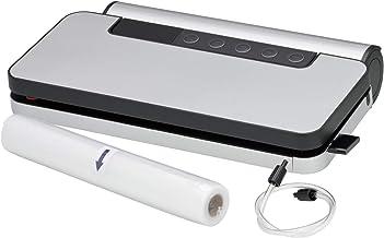 WMF Lono Vacuümverpakker, 90 W, met afneembare foliebox, vacuümmachine met folierol en 5 zakken, 30 cm dubbele lasnaad, 5 ...