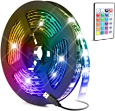 LED Light Strip,Baytion 16 Color Changing Waterproof Strip Lights with Remote Control, for TV/Bedroom/Home Decoration/Part...