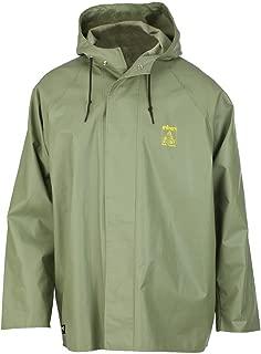 Work Jacket Mens Engram PVC Coated 4XL Light Green 70123