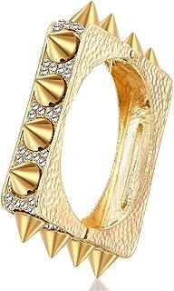 Best gold studded cuff bracelet Reviews