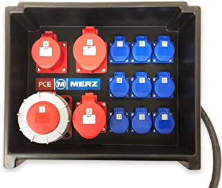 MERZ MZ80000100 mobiler Eventverteiler 44 kVA Stromverteiler Steckdosen Baustrom