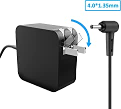 Laptop Power AC Adapter 19V 2.37A 45W Charger for Asus Wireless-AC1900 Router T-Mobile WiFi Wireless Router Dual-Band Gigabit MSQ-RTAC68U TM-AC1900 RT-AC68U w/MKK Stylus Pen Asus Power Supply