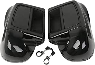 TCMT Black Glove Box Lower Vented Leg Fairings Fits For Harley Touring Electra Glide Road King 2014 2015 2016 2017 2018 2019 2020