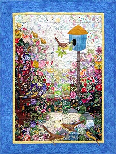 Whims Watercolor Quilt Kits Bird House Quilting Supplies