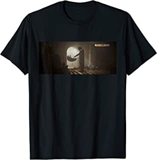 Star Wars The Mandalorian and The Child Discovery Scene T-Shirt