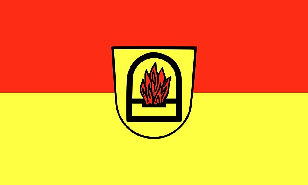 DIPLOMAT-FLAGS magFlags Table-Flag/Desk-Flag: Essingen 15x25cm