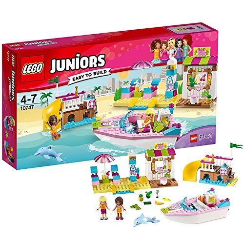 LEGO- Juniors Vacanze al Mare, Multicolore, 10747