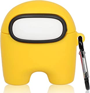 Case for AirPod Pro/3-Cartoon Design Cute Silicone Cover Fashion Funny Cool Unique -Shockproof Soft Protective Cover for A...