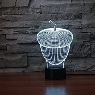Lámpara De La Estrella De La Muerte 3D Luz De La Noche Novedad Caballo Lámpara 3D Led Luces De La Noche 3D 7 Colores Interruptor Táctil Remoto Aniamal Escritorio Lámpara De Mesa Niños Habitación