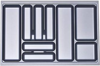 Orga-Box I Bestekbak zilvergrijs 800 mm voor Blum Tandembox u. ModernBox