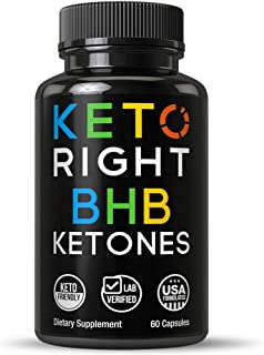 3000mg Keto BHB Exogenous Ketones Capsules. Lab Verified 3 Beta Hydroxybutyrate BHB Forms for Maintaining Ketosis. Unflavored Ketone Salts Supplement. Zero Carbs Exogenous Diet Pills for Men and Wome