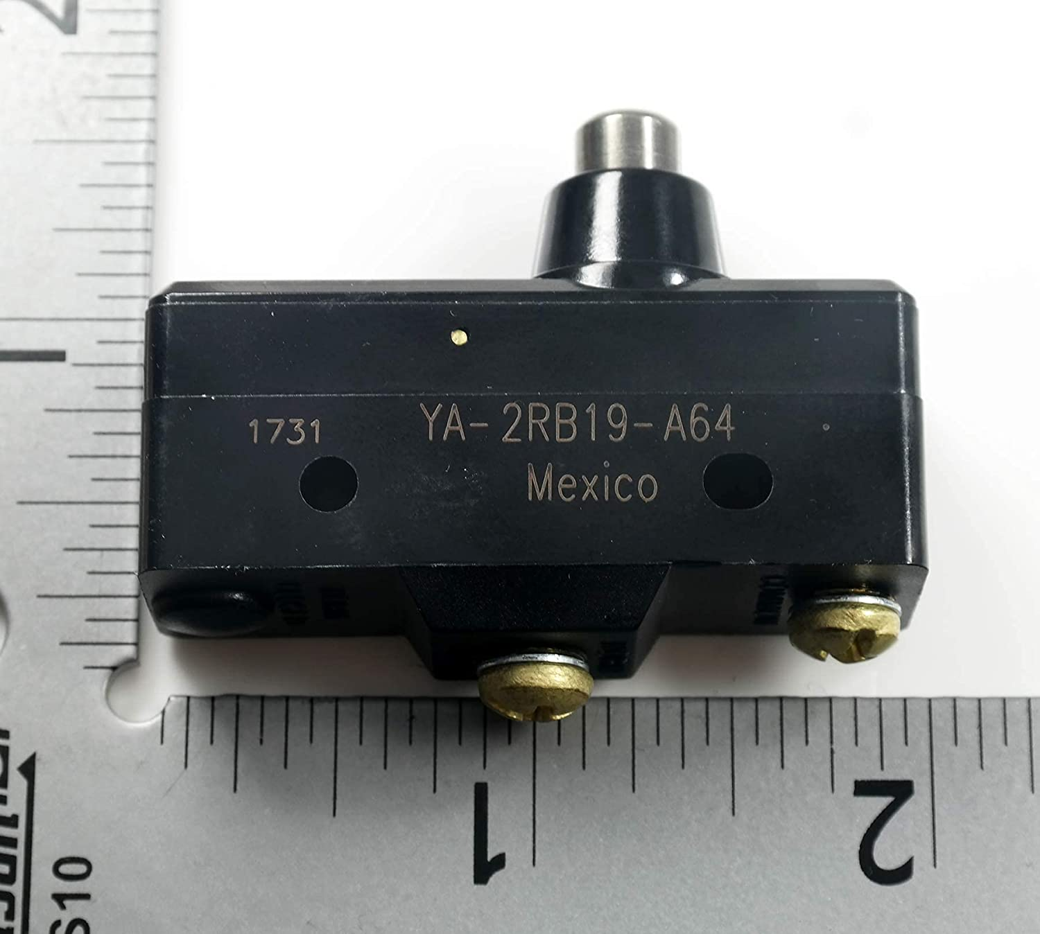 YA-2RB19-A64 - Microswitch Standard Plunger SPST-N Industry No. Be super welcome 1 Overtravel